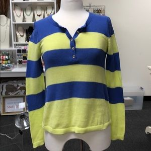 Striped Henley Lilly Pulitzer Sweater